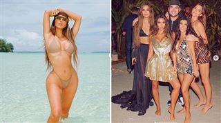 Kim Kardashian critiquée pour une escapade tropicale à l'occasion de ses 40 ans- sa mère dévoile les images de l'INCROYABLE anniversaire