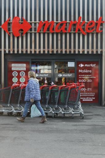 Le personnel des Carrefour Market a repris le travail mercredi