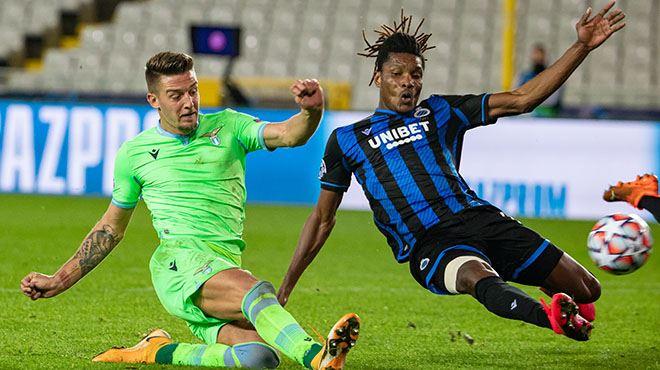 Ligue des champions- le Club Bruges prend un point contre la Lazio et peut nourrir des regrets (vidéo)