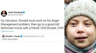Détends-toi Donald- quand Greta Thunberg se moque de Donald Trump