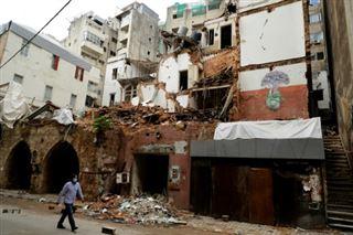 Au Liban, les pluies portent le coup de grâce aux maisons ravagées par l'explosion