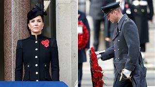 Kate et William assistent à un Dimanche du Souvenir perturbé à cause du coronavirus (photos)
