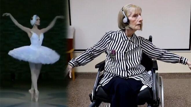 Atteinte d'Alzheimer, cette ancienne ballerine se remémore à la perfection sa chorégraphie