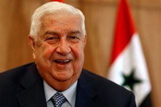 Syrie- décès du ministre des Affaires étrangères Walid Mouallem