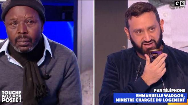 Cyril Hanouna fait intervenir une ministre pour aider un sans-abri