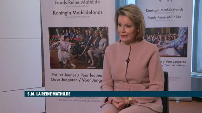 La reine Mathilde au sujet du roi Philippe- On forme une équipe solide