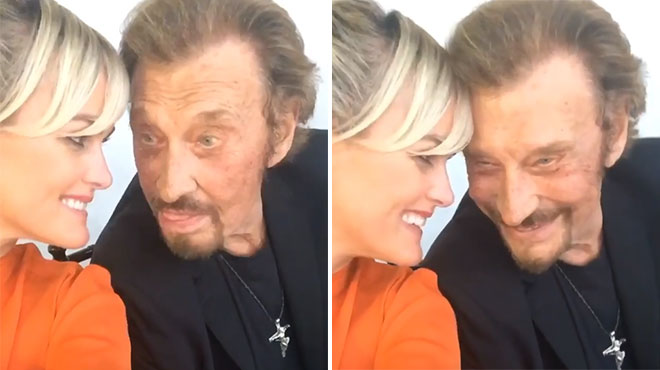 Johnny Hallyday: A sharp message from Laeticia Hallyday 3 years after her death (video)
