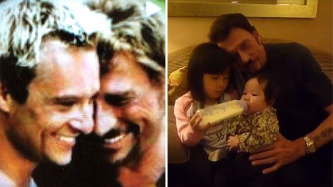 Johnny Hallyday- ses enfants David et Jade lui rendent hommage (vidéo)