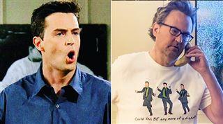 FRIENDS- Matthew Perry lance une ligne de vêtements et accessoires inspirés de Chandler Bing
