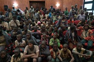 Rapt d'élèves au Nigeria- les 344 garçons libérés reçus par les autorités locales