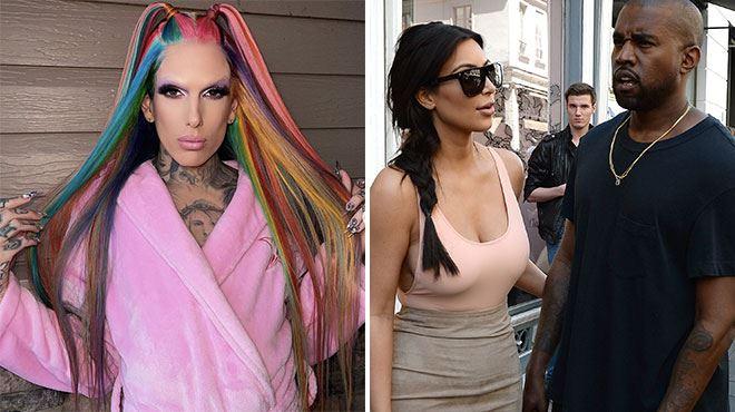 Kanye West a-t-il trompé Kim Kardashian avec Jeffree Star? L'influenceur s'exprime (vidéo)
