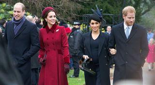 Les princes Harry et William se sont réconciliés pendant les fêtes de fin d'année et se parlent régulièrement