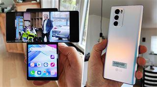 Les tests de Mathieu- pour ne plus vous tordre le poignet, ce smartphone a un écran… pivotant