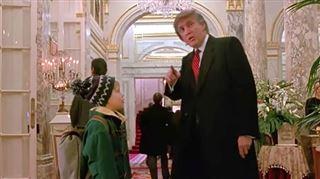 Donald Trump dans Maman j'ai encore raté l'avion- les internautes veulent l'effacer