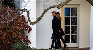 Melania Trump quitte la Maison Blanche dans le plus grand secret 4