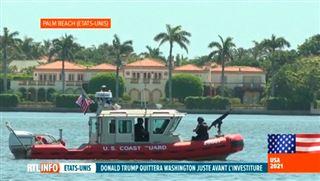 Mar-a-Lago, l'immense manoir où Donald Trump va se réfugier mercredi matin, jour de l'investiture de Joe Biden... 6