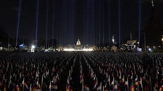 Investiture de Joe Biden- pourquoi plus de 190.000 drapeaux ont été placés devant le Capitole?