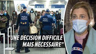 Interdiction de voyager- Il y aura la police sur les routes, dans les aéroports et les gares, avertit la ministre de l'Intérieur