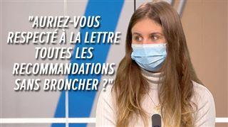 Camille, 21 ans, veut faire passer un message à ceux qui critiquent les jeunes- Auriez-vous mieux agi que nous?