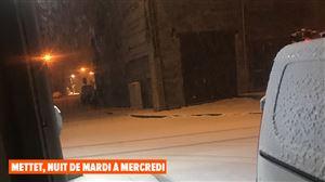 Météo: encore un peu de neige en Ardenne, forte remontée des températures demain