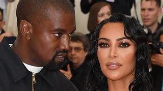 Kanye West ne croit pas au divorce- selon lui Kim bluffe