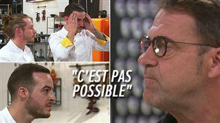 Top Chef- panique chez les jaunes lorsque Michel Sarran réalise que sa brigade prépare le même dessert que celle de son adversaire (vidéo)