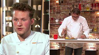Lui faire manger du sable et boire un shot d'eau de mer- le défi VRAIMENT OSÉ de Mathieu, le Belge de Top Chef (vidéo)