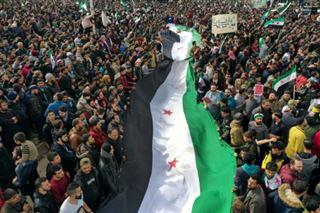 Syrie- manifestation à Idleb pour marquer le 10e anniversaire de la révolution
