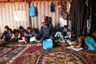 En Syrie, le père des martyrs élève ses onze petits-enfants orphelins