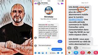 Une ARNAQUE usurpe la marque RTL info sur Facebook- Gasparo a perdu tout ce qui restait sur ma carte prépayée