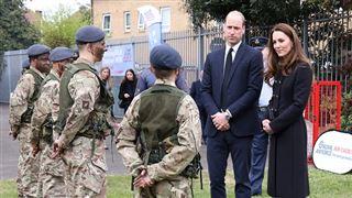 Premier engagement officiel pour William et Kate depuis les funérailles du duc d'Edimbourg (photos)