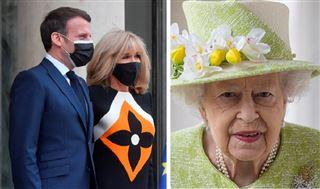 Brigitte Macron- cette attention délicate envoyée à la reine Elizabeth II