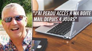 Proximus met fin à un service gratuit d'email- suite à un problème administratif, Olivier n'a pas été prévenu, il est en COLÈRE