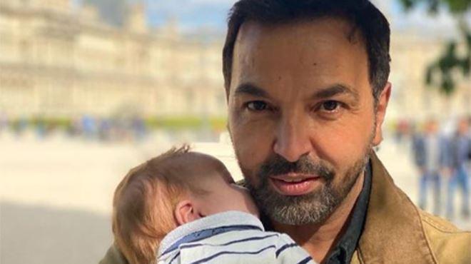 Kamel Ouali papa- découvrez le prénom de son fils 1