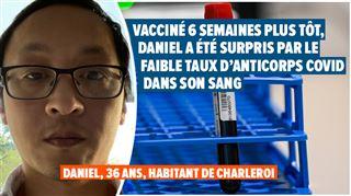 Une faible quantité d'anticorps Covid dans le sang permet-elle de prouver que le vaccin n'a pas marché?
