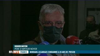 Nordahl Lelandais est condamné à 20 ans de prison pour le meurtre d'Arthur Noyer, le père de la victime est globalement satisfait