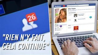 Fanny dérangée par les invitations à caractère sexuel sur Facebook- que fait le réseau social ?