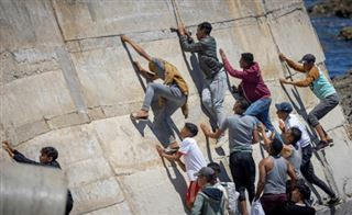 Les mineurs au coeur de la vague d'émigration à Ceuta
