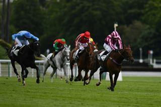 Grand Steeple-Chase de Paris- Docteur de Ballon vainqueur