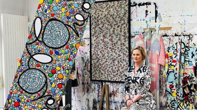 Après l'art, la princesse Delphine de Belgique se lance dans un nouveau business (photos)