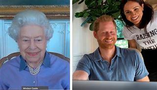 Le prince Harry et Meghan ont présenté Lilibet à la Reine via un appel en visioconférence