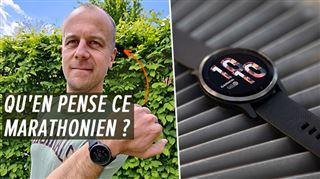 Les tests de Mathieu- roi de la montre sportive, Garmin soigne désormais le design
