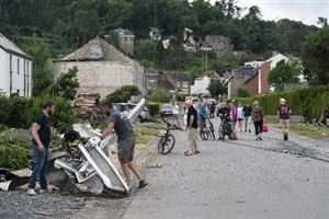 Fin du Plan d'urgence communal à Beauraing après le passage de la tornade