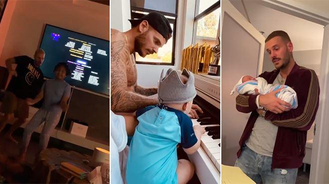 Christina Milian célèbre la fête des pères- des photos et vidéos inédites de Matt Pokora en famille