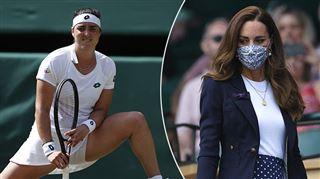 Oups- Kate Middleton témoin d'une scène PEU RAGOÛTANTE à Wimbledon (vidéo)