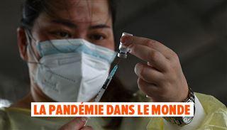 Coronavirus - BILAN MONDIAL- des médecins injectent des faux vaccins en Ouganda, le variant Delta toujours prédominant