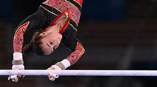 Jeux Olympiques- Nina Derwael et la Belgique brillent déjà en gymnastique
