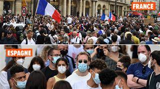 France, Espagne, Danemark- quels sont les pays qui imposent le pass sanitaire en Europe?