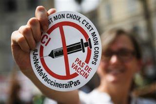 Covid-19- environ 85% des personnes hospitalisées sont non vaccinées, selon une étude