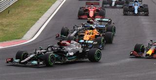F1- Hamilton et Verstappen loin derrière au GP de Hongrie après un départ fou